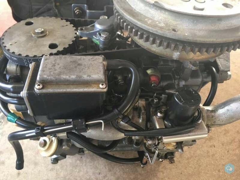 Blocco motore Yamaha 9,9-15 4T anno 82 in poi 200  1