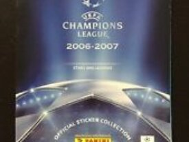 Album panini champions league 2006 2007 incomplet
