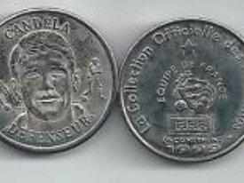 Football Médaille CANDELA 1999