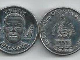 Médaille 1999 Thuram