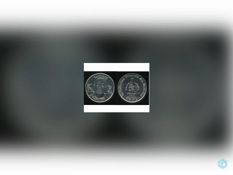 Football Médaille BARTHEZ 1999 1