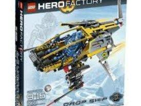 Légo Hero Factory Le vaisseau héro