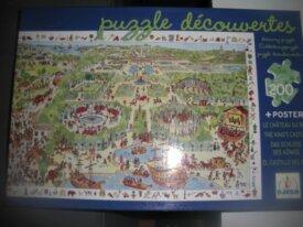 Puzzle Découvertes 200 p Le Chateau du Roi Djeco