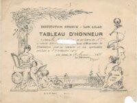 tableau d'honneur 1934 2