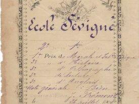 billet distribution des prix 1908