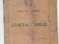 Livret de famille 1927 1