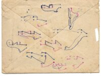 FRANCE TIMBRE TAXE N°78 sur enveloppe 2