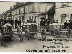 carte coupe des voiturettes 1908