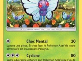 [ÉPUISÉ] SM1-003|Carte Pokémon|Papilusion