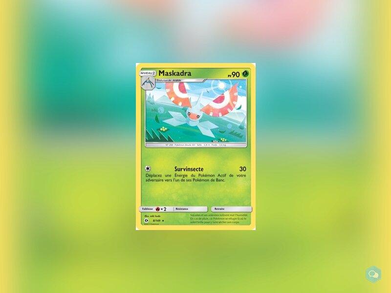SM1-008|Carte Pokémon|Maskadra 1
