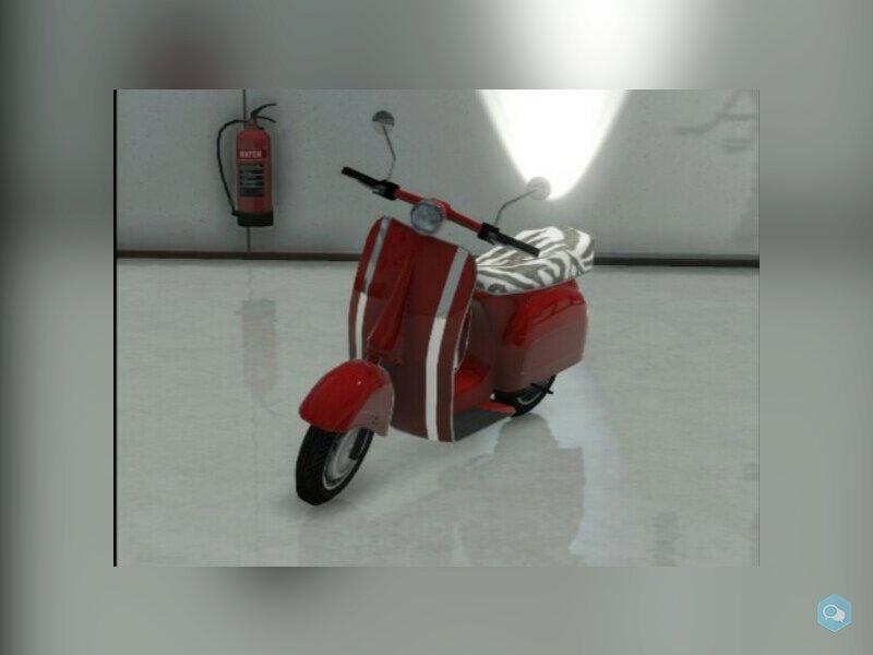 Un scooter  1