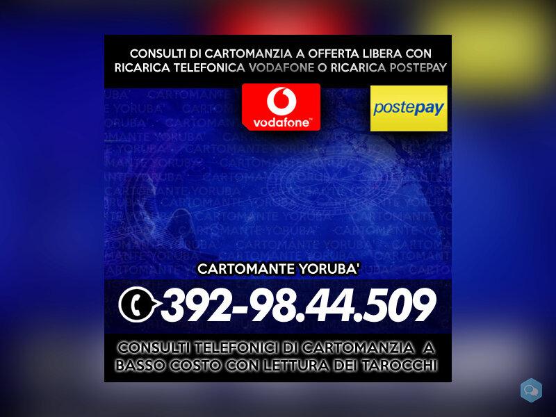 Studio di Cartomanzia Yoruba - Consulti telefonici 1