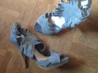 Chaussures couleur jean clair 37-38 1