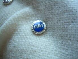 sigle clef fiat bleu 1.4 cm plastique