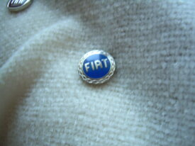 sigle clef fiat bleu 1.4 cm métal
