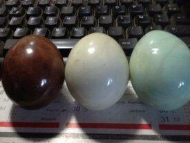 6 œufs en pierre