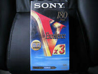 CASSETTE K7 VHS SONY EXCELLENCE 240MIN VHS 1