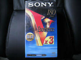 CASSETTE K7 VHS SONY EXCELLENCE 240MIN VHS