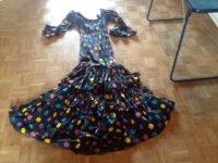 Véritable robe flamenco 1