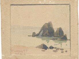 Aquarelle Nicolas Krycevsky 1898-1961