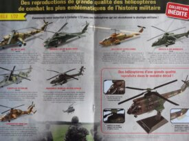 Collection ALTAYA Hélicoptères et Bombardiers