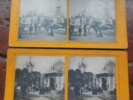 2 vues stéréoscopiques 1900