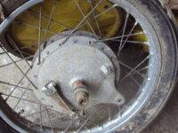 roue arrière de suzuki T20/T250/T350 2