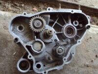 paire de carters moteur de 50 gilera 3