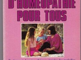 R312,D.Berthier, JJ-Jouanny, Homéopathie pour tous