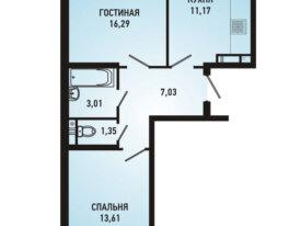 ЖК Губернский г.Краснодар 2 к.кв 2230000