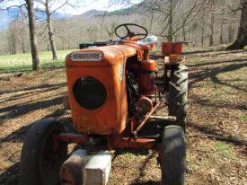 Vente de tracteur AS500