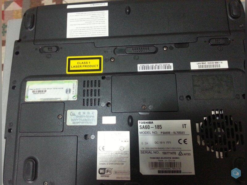 Notebook Toshiba SA60-185 / ASUS L3500TP 5