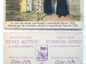 Chromos, Côte D'Or, Reine Astrid, série 3