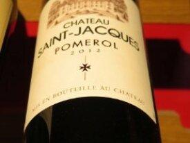 Pomerol -  Château SAINT-JACQUES 2012