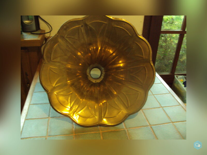 pavillon de phonographe laiton 2