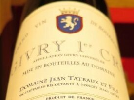 Givry 1 er Cru -  Domaine Jean Tartaux 2014
