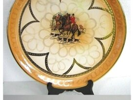 Assiette décorative, H Bequet