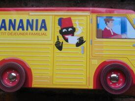 Camion BANANIA boîte en métal