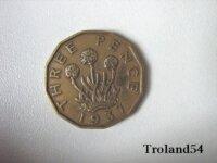 Royaume-uni, 3 Pence 1937 1