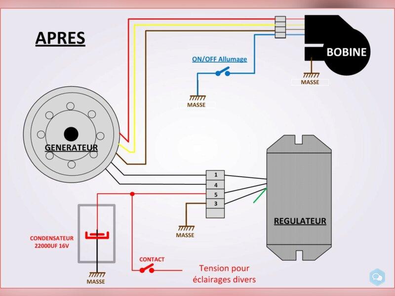 Condensateur pour POWERDYNAMO (6v et 12v) 3