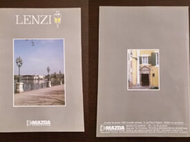 Ancien catalogue LENZI