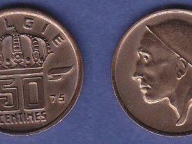 BELGIQUE 50 CTMES 1975 (FL) NEUVE