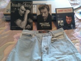 SHORT JOHNNY HALLIDAYEN JEAN : WEST