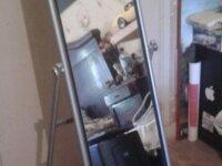 Miroir sur pieds 1