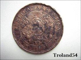 Dos centavos-1891