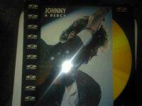 RARE Laser Disc NON OUVERT concert Johnny Hallyday 1