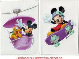 """Autocollant """"Disney"""""""