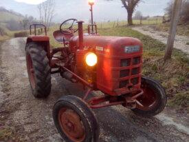 Tracteur FAHR D180 de 1956