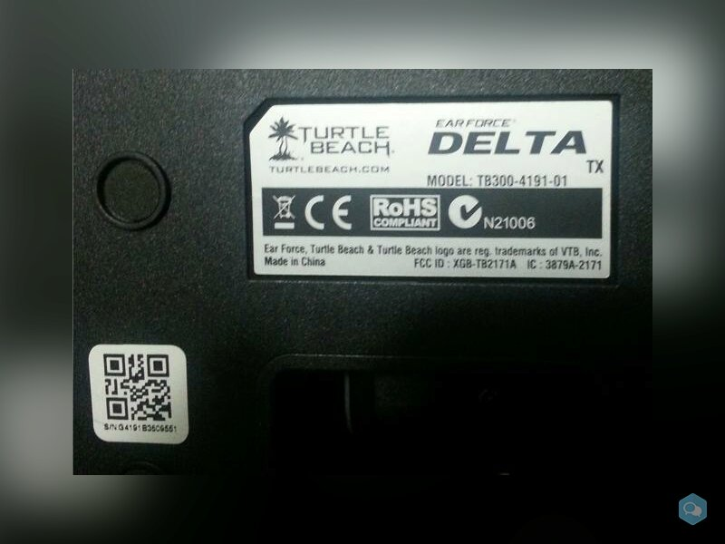 Cuffie senza filo Ear Force Delta Dolby 1