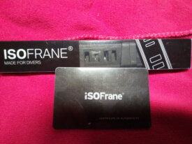 iSoFRANE 24mm Rubber Strap Brand new